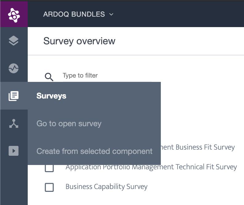 Ardoq surveys