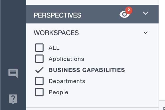 Ardoq perspectives business capabilties