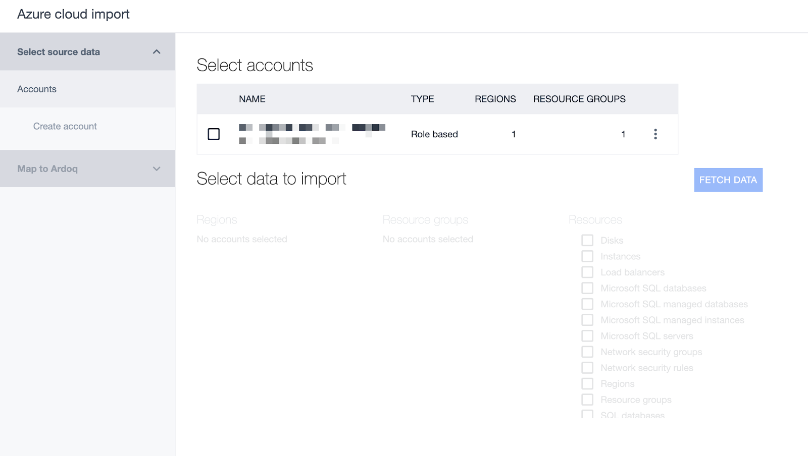 Ardoq multiple Account Support for Azure