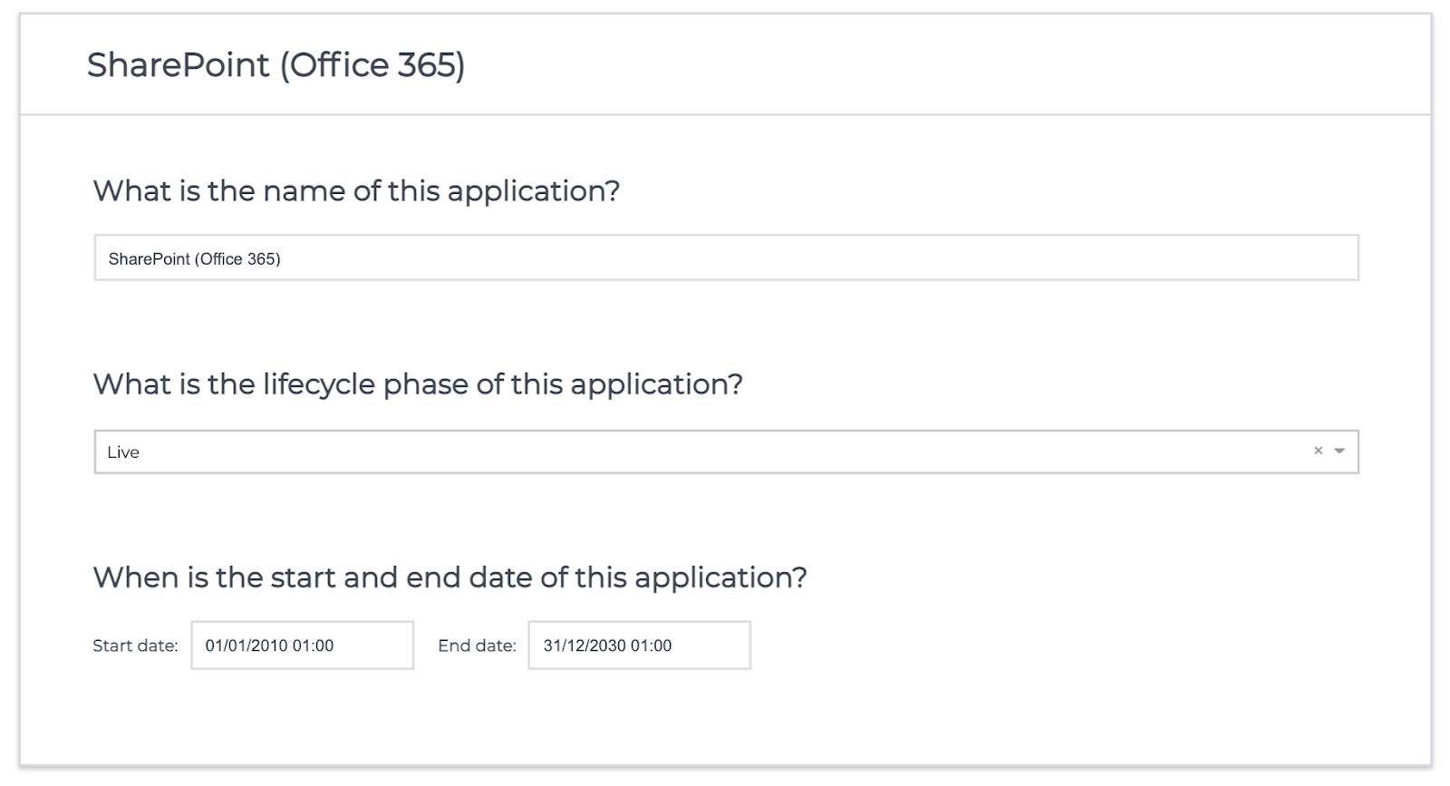 ardoq application owners